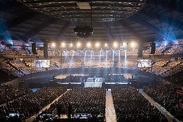 So könnte es im Juni bei der Aufführung in der Westfalenhalle in Dortmund aussehen... Foto: EKvW